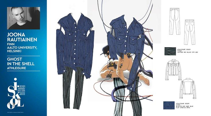 #isko #iskool #project #denim #sketches #denimlovers #designaward #shortlisted #finalist #AaltoUniversity