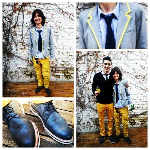 Yellow pants #tascani #H&M #prototype