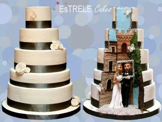 Hidden Design Cake Ideas : 1000+ images about Hidden surprise wedding cakes on ...