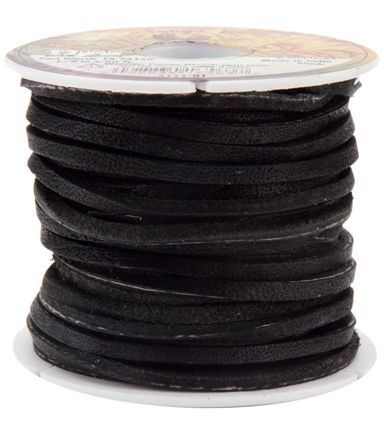 "Leather Factory Latigo Lace 1/8"" Wide 50 Foot Spool"