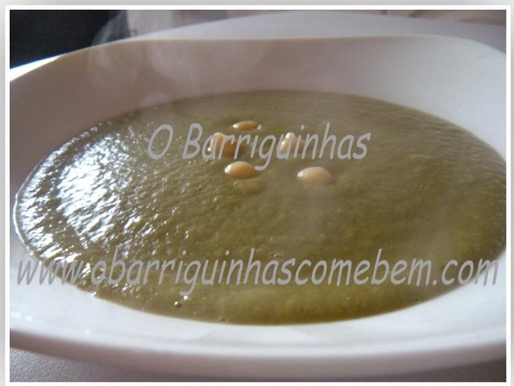 O Barriguinhas: Sopa de Espinafres, Grão de Bico e Farinheira