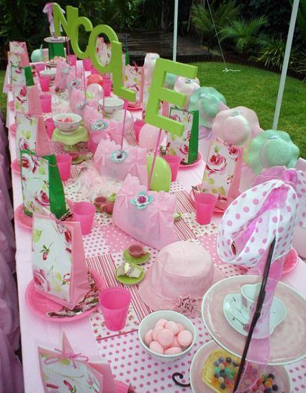 14 best images about princess tea party on pinterest for Unique tea party ideas