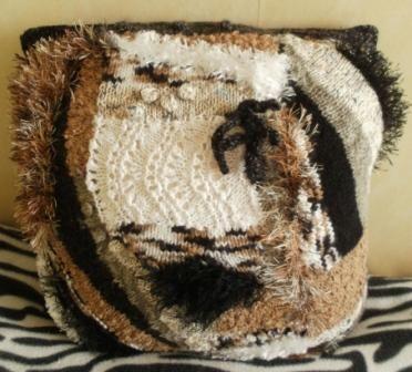 Fat-Quarter: Scrumble pillow