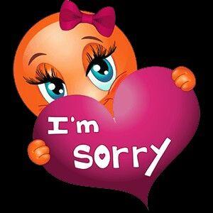Tierna manera de pedir perdon