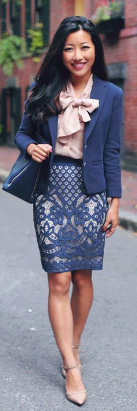 Stitch Fix - I LOVE the details in this piece. The skirt especially catches my eye.  HATE the top and jacket
