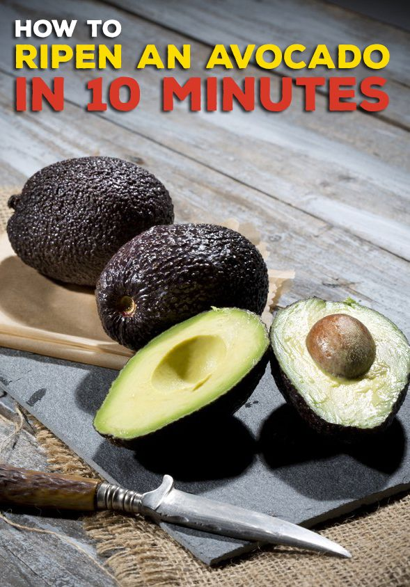 You don't have to wait for avocados to ripen on their own thanks to this easy hack.