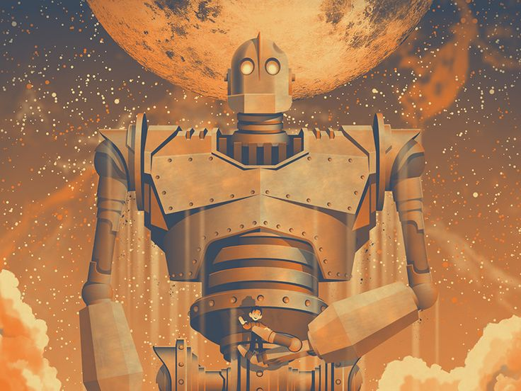 See full image, sketch and close up shots here  Last month our Iron Giant poster premiered at the first ever MondoCon in Austin, Texas. We now have our own copies of the print available for sale in...