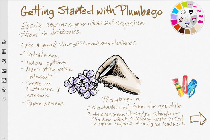 Microsoft Launches Plumbago, A Paper App Competitor That Lets You Sketch & Handwrite Notes | TechCrunch