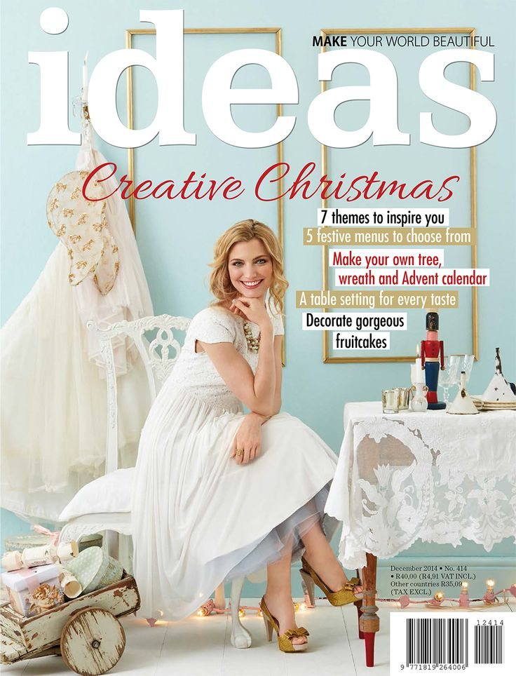 Our December issue is packed with crative Christmas inspiration. Buy the digital version HERE: http://bit.ly/1xGYz9V