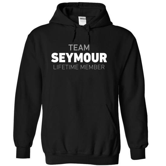 Team Seymour - #gift for teens #gift girl. ORDER NOW => https://www.sunfrog.com/Names/Team-Seymour-xjxta-Black-5157176-Hoodie.html?68278