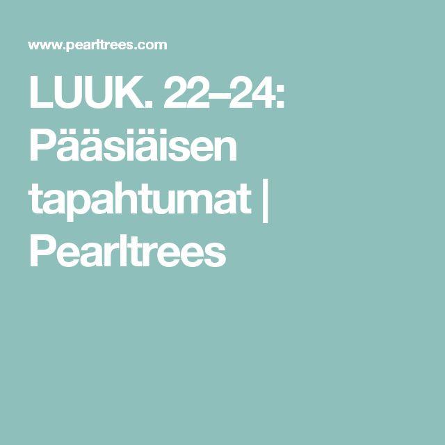 LUUK. 22–24: Pääsiäisen tapahtumat   Pearltrees