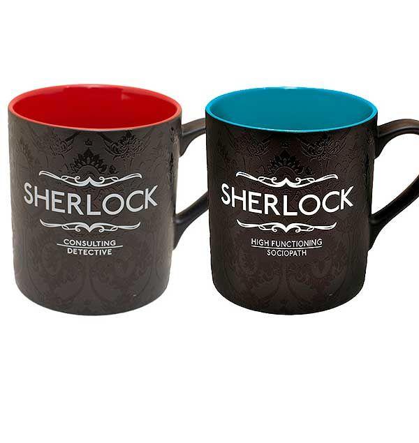 Resultado de imagen de sherlock mug