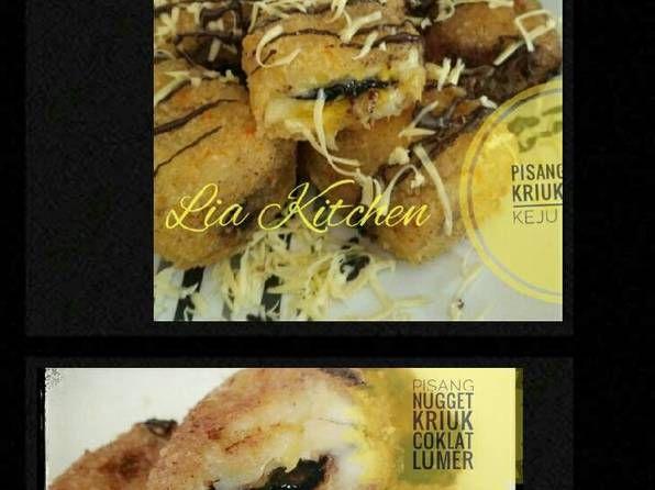 Resep Nugget Pisang Kriuk Keju Coklat Lumer Oleh Qaisara Olshop Resep Pisang Coklat Keju