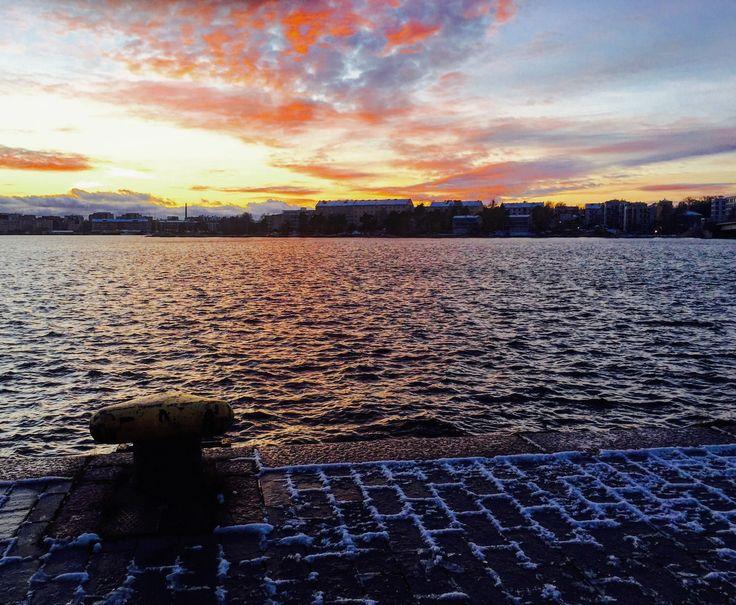 Lauttasaari, Helsinki, XmasRun December 2017
