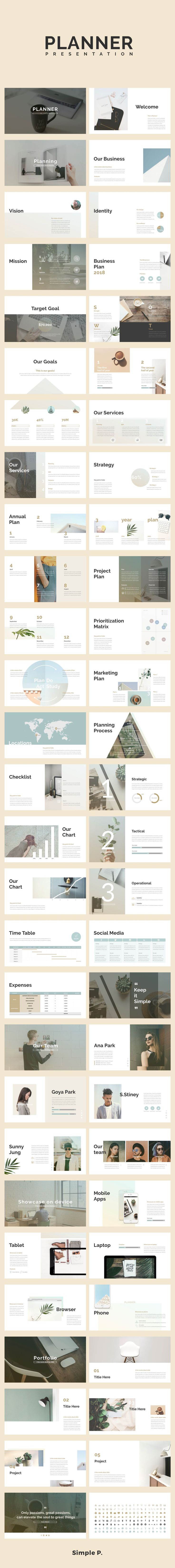 wedding planning checklist spreadsheet free%0A Planner Keynote Template       Planner  Business Planning  presentation   simple