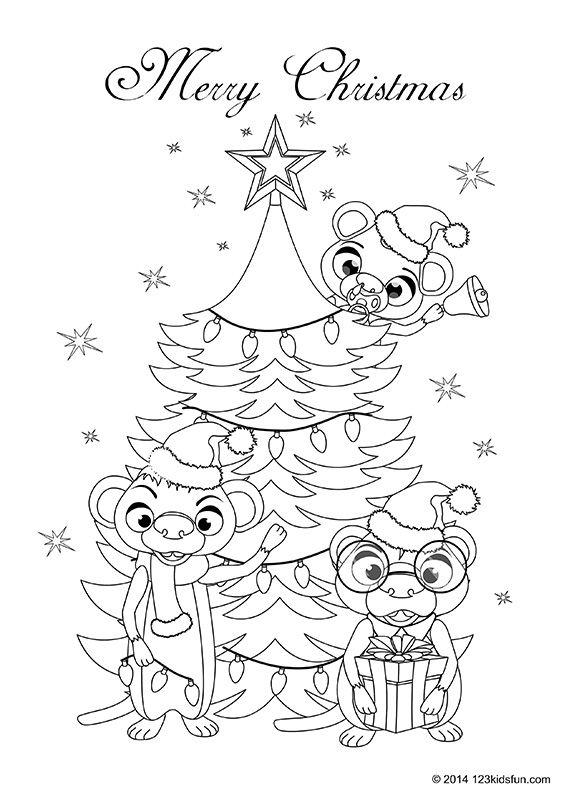 Christmas 123 Kids Fun Apps Free Christmas Coloring Pages Christmas Coloring Pages Christmas Colors