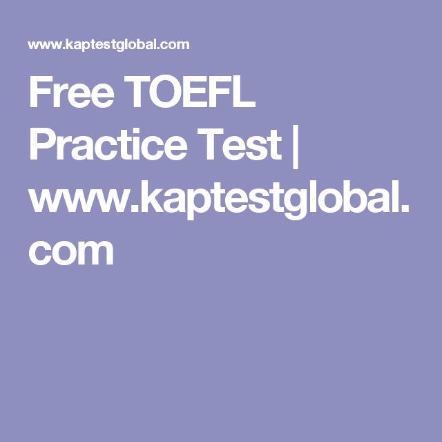 9 best free toefl sample test images on pinterest reading practice free toefl practice test kaptestglobal yadclub Choice Image