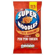 Batchelors Super Noodles Peri Peri Chicken 100G