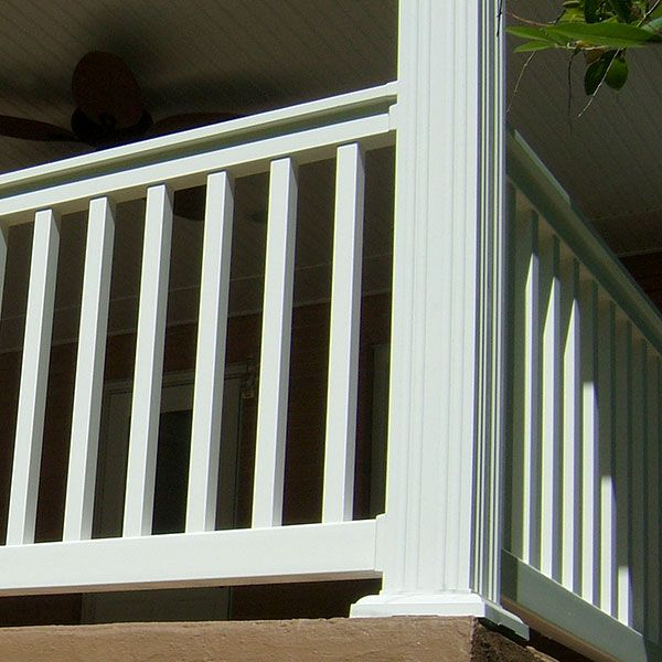 Fluted Vinyl Column Wrap By Durables Column Wrap Vinyl Railing Vinyl Deck