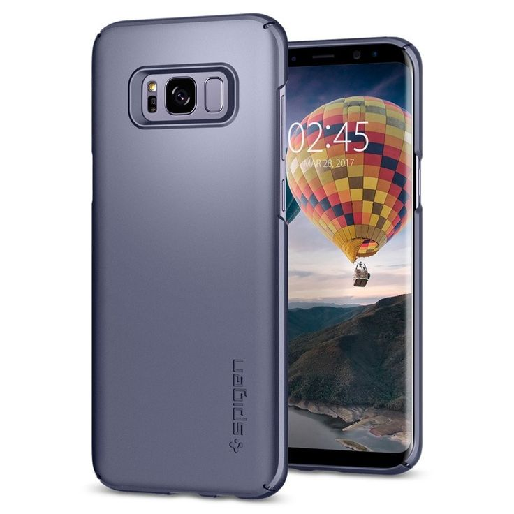 Spigen Galaxy S8+(Plus) Thin Fit Orchid Gray #Spigen #Agorashop #Galaxy_S8+ #android #mobile #techtrends #beautiful #followforfollow