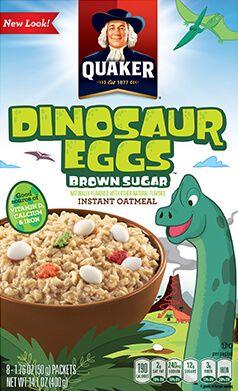 Product: Hot Cereals - Quaker Instant Oatmeal, Dinosaur Eggs | QuakerOats.com