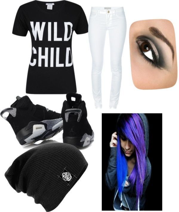 """scene outfits polyvore 