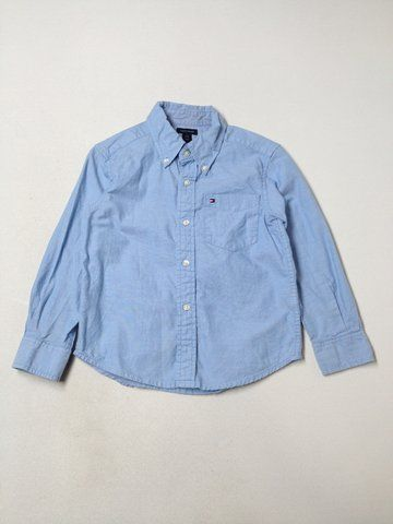I love this Tommy Hilfiger Long-sleeve Button-down 4!