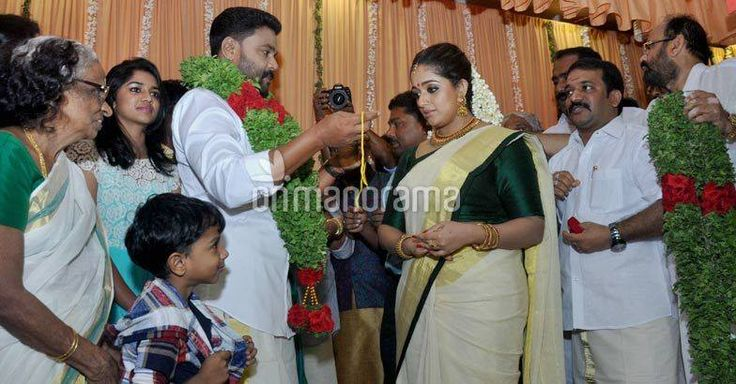 Finally, #Dileep & Kavya ties the knot Putting an end to years of speculations on their relationship status Malayalam actors Dileep and #KavyaMadhavan finally tied the knot today morning at a hotel in Kochi. The function which is a very private affair is held at the Vedanta hotel in Kaloor, Kochi. Read more on>http://weddingstreet.in #weddingcollections #weddingplanners #wedzone #weddingstorekochi #weddingadvicer