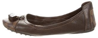 Louis Vuitton Damien-Trimmed Driving Loafers