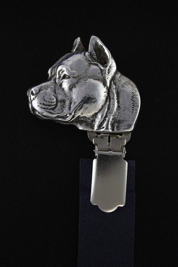 American Staffordshire Terrier dog clipring by ArtDogshopcenter