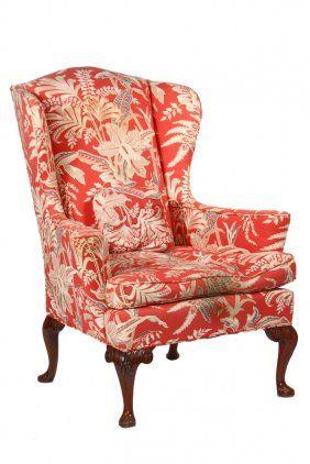 Custom Queen Anne Wingchair - Accurate Queen Anne
