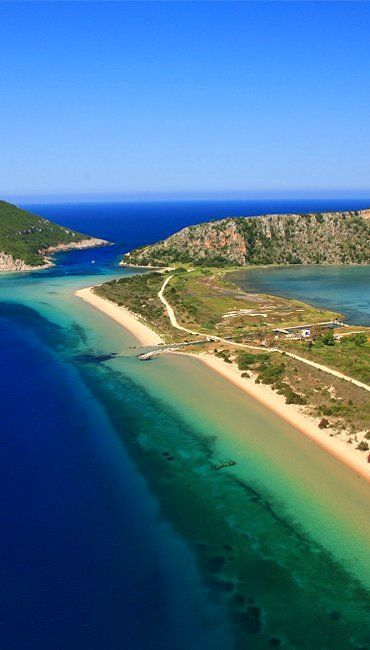 VISIT GREECE| Chryssi Akti, Messinia  #Peloponnese #mainland #destination