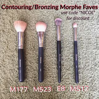 Morphe Brushes for contouring