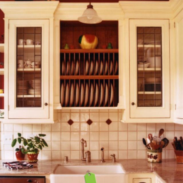Dish storage | DIY Dish Hutch Project | Pinterest