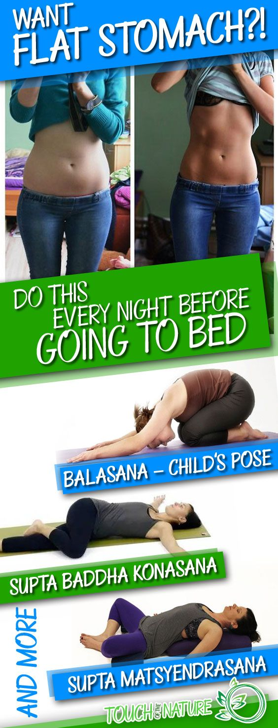 Do This Movement Every Night Before Going To Bed, Your Body Will Change In No Time! – Touch Of The Natu
