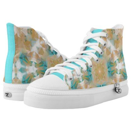 #Ethnic national ornament High-Top sneakers - #womens #shoes #womensshoes #custom #cool