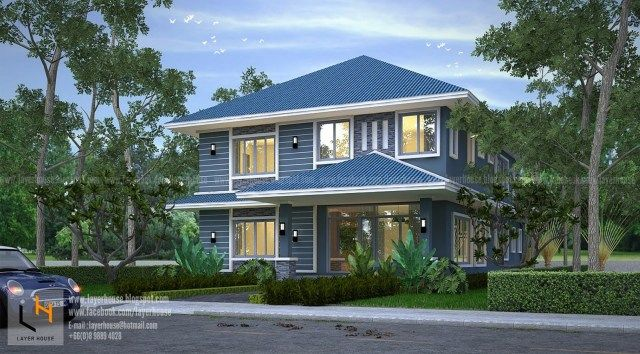 House Plans Idea 10x17m With 5 Bedrooms House Design Plan House Plans Home Design Plans House Design