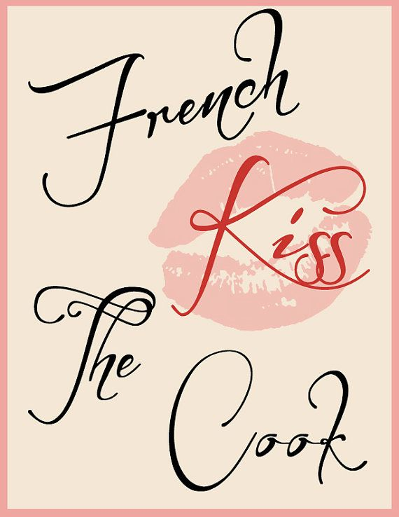 French Kiss the Cook www.kissinginthekitchen.com @kissingkitchen  #Kissingkitchen https://www.facebook.com/KissingInTheKitchen