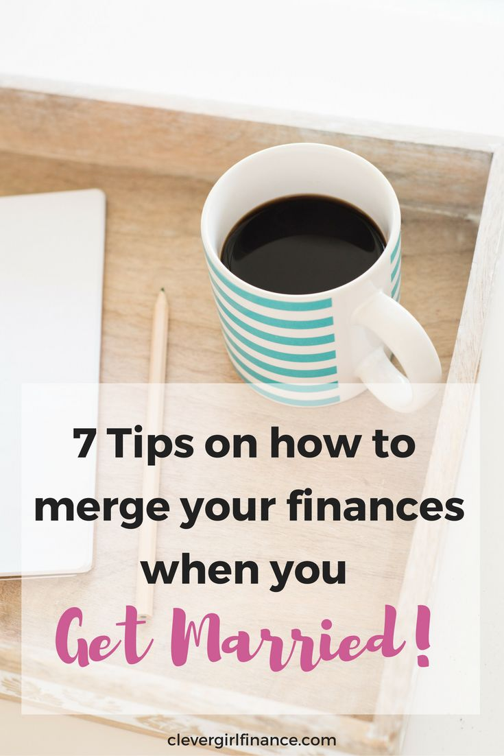 Are you a newlywed? Planning a wedding? Money and marriage can be tough. Click to read this blog post on how to merge your finances when you get married.