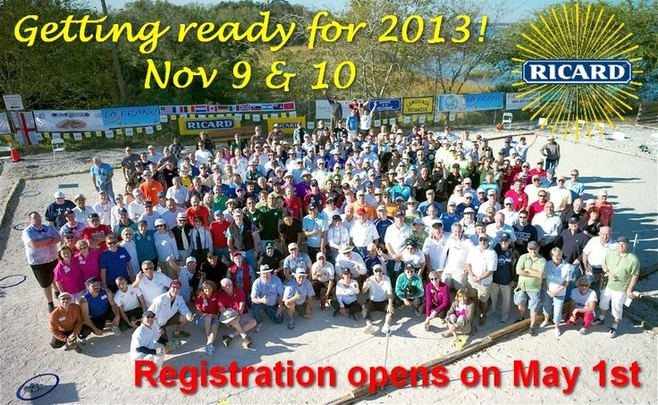 Petanque America Open - 9 & 10 November 2013