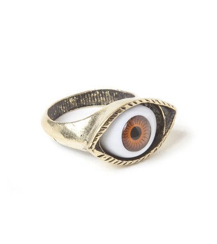 Evil Eye Ring | Fashion Statement Jewelry Rings | HOTTT.COM