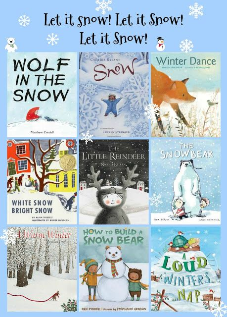 Randomly Reading: Let it snow! Let it snow! Let it snow! A Snowy Picture Book Roundup