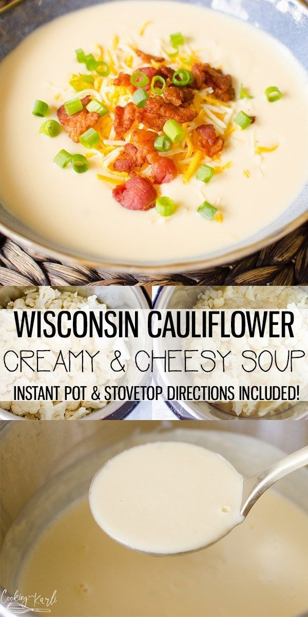 Mar 27, 2020 – Cauliflower Cheese Soup is an ultra creamy soup made with a only a handful of ingredients. This is such a…