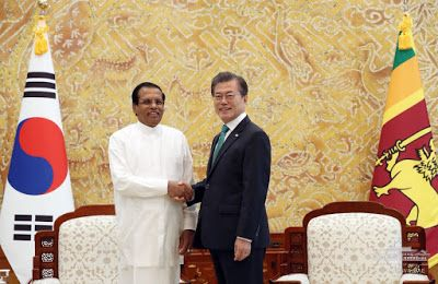President Sirisena's visit opens a new glorious chapter in bilateral relations - Korean President Moon Jae- in [November 29 2017]       ...