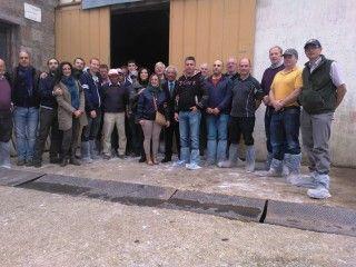 Incoming nel Sannio di un gruppo di imprenditori zootecnici irlandesi!
