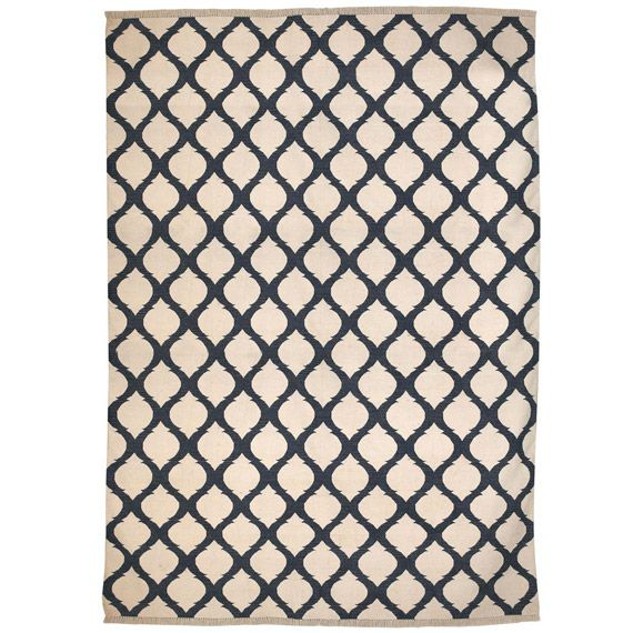Jerada Cotton Dhurrie Rug, Extra Large