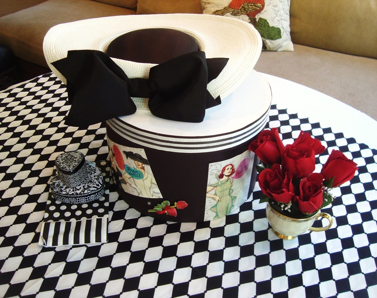 Centerpiece ideas for mad hatter tables mad hatter meets - Centerpiece ideas for men ...