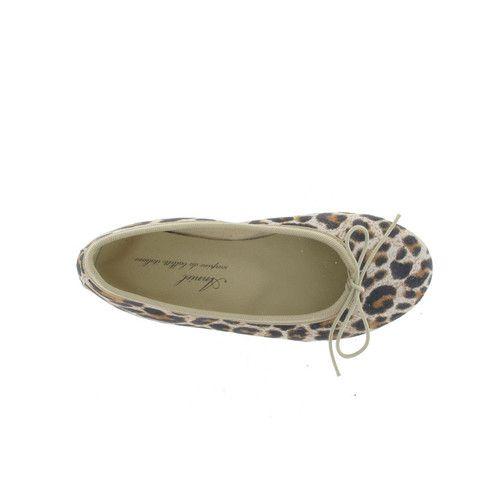 Anniel Ballerinas Leopard Natural Girls