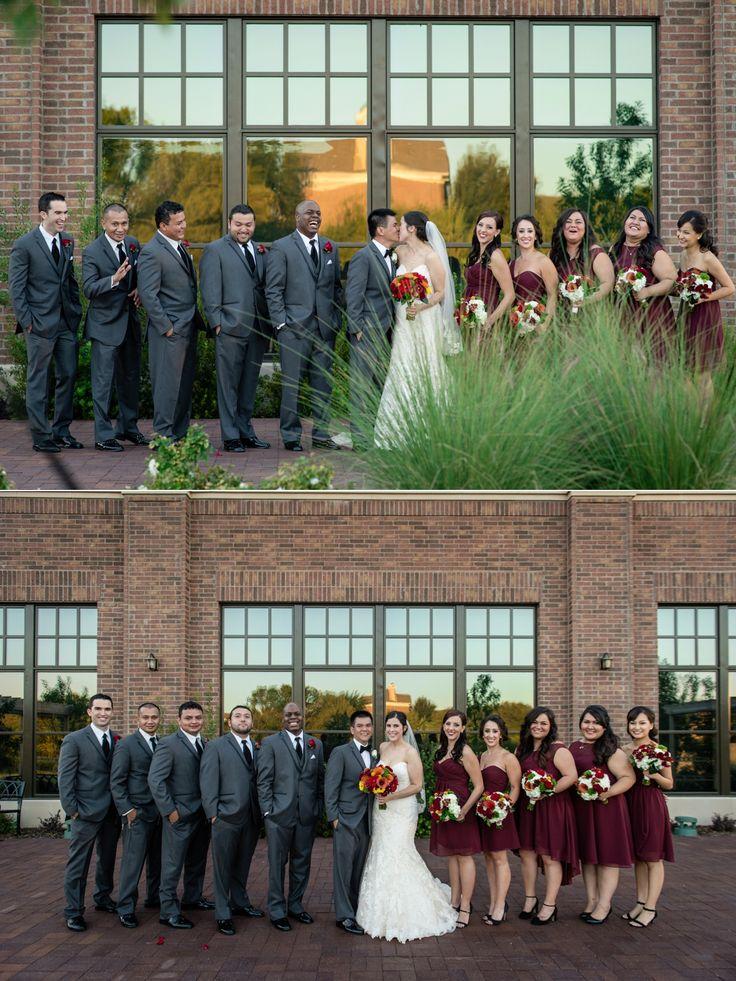 Best 25 gray groomsmen ideas on pinterest gray for Bridesmaid dresses for november weddings