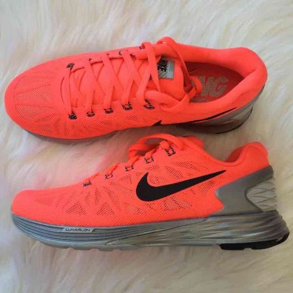 womens nike lunarglide 6 red orange